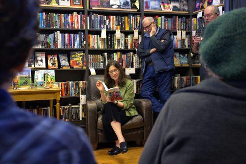 Tracy reading